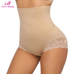 High Waist Panty Seamless Australia - Women Body Shaper High Waist Butt Lifter Tummy Control Panty Slim Waist Trainer Panties Seamless Slimming Shapewear Underwear