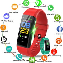 $enCountryForm.capitalKeyWord Australia - 2019 115plus Smart Watch Men Women Heart Rate Monitor Blood Pressure Fitness Tracker Smartwatch Sport Watch for ios android +BOX