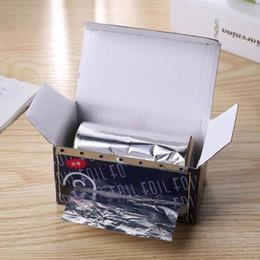 1 rulle 50m frisör styling tennfolier Tape förtjockta hårsalong manikyrtillbehör Höjdpunkter Folie Roll Gradient Modeling Tool