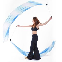 $enCountryForm.capitalKeyWord Australia - Belly Dance Helpers Thrown Poi Balls Adjustable Chain with Silk Veil for Music Festivals Costumes Clubs