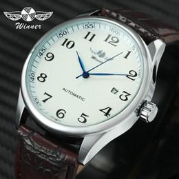 $enCountryForm.capitalKeyWord Australia - Fashion Business Men Automatic Wrist Watches Leather Strap Male Mechanical Watches Calendar Date Clock Montre Homme +gift Box Y19062004