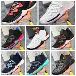 Discount plastic magic spring - NKY05A Irving 2019 Limited 5 Men Basketball Shoes 5s Black Magic for Kyrie Chaussures de basket ball Mens Trainers Sneak