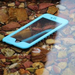 Purple Iphone Screens Australia - Full body Cases Protective Case For Apple iPhone 4 4S Waterproof Shockproof DirtProof bulit in Screen Protector