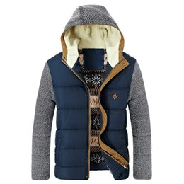$enCountryForm.capitalKeyWord Australia - 2016 New Korea Man Fashion Warm Parkas Patchwork Design Cotton-Padded Style Young Men Winter Jackets Mens Brand Clothing Outwear