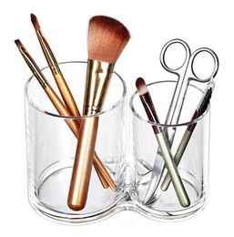 Lipstick Racks Australia - Acrylic Cosmetic brush rack Eyeliner Eyebrow holder Cosmetics collection Jewelry storage box Lipstick box Makeup Organizer