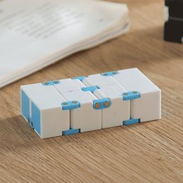 squared square puzzle Canada - NEW! Unlimited Flip Pocket Magic Cube Block Infinite Decompression Cube high quality Infinite Square Smooth Puzzle Cube Fidget