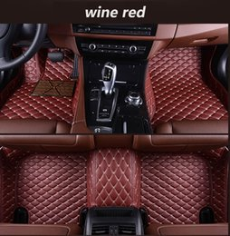$enCountryForm.capitalKeyWord NZ - Mercedes-Benz E-class Coupe 2009-2019 car anti-slip mat luxury surrounded by waterproof leather wear-resistant car floor mat with logo