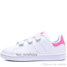 $enCountryForm.capitalKeyWord Australia - Kid children baby girl Love Shoe For Boys girls Kawakubo Hook & Loop pink red multi white samba stan smith kid casual shoes sieze22-35