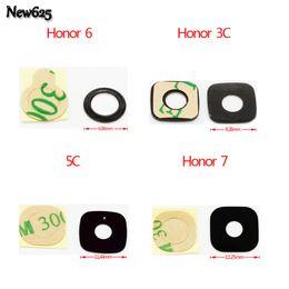 Huawei Honor 3c Cases Australia - 2 Pcs Lot, For Huawei P6 P7 Honor 6  Honor 7  Honor 3C 4X 4C 5C G8 G510 P8 max Y511 U9508 Camera Glass Lens +Adhensive