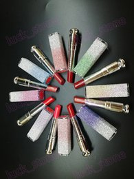Wholesale 8 color no logo star shinning lipstick long lasting waterproof lip rouge lip makeup accept our logo print