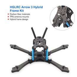 $enCountryForm.capitalKeyWord Australia - HGLRC Arrow 3 inch Hybrid Frame Kit Arm 4mm for FPV Racing Drone Racing Frame Kit with Wrench Tools High Quality