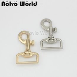 """$enCountryForm.capitalKeyWord Australia - 2 pieces, 71*33mm 1-1 4"""", high quality metal buckles snap hooks for backpacks straps key chain diy hardware accessories"""