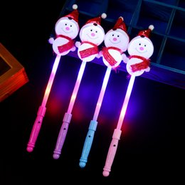 $enCountryForm.capitalKeyWord Australia - Hot flashing Beautiful New LED glow stick led Snow cheering stick led flashing light stick Glow Party Toy Christmas