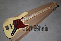 Mahogany Jazz Bass Body UK - Free shipping High Quality Custom body mahogany body 4 string FD Signature Jazz Bass old Electric guitar