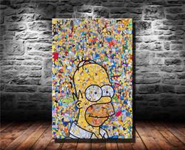 Of The Simpsons, Impresión en lienzo en HD Nueva decoración del hogar Pintura de arte / (sin marco / enmarcada) en venta