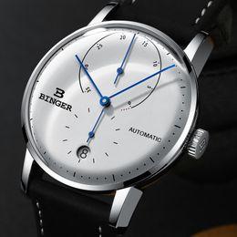 Binger Men Mechanical Watches Australia - Switzerland Binger Men's Watches Luxury Brand Automatic Mechanical Men Watch Sapphire Male Japan Movement Reloj Hombre B1187-0 Y19052004