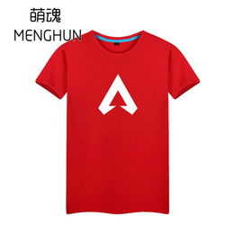 Boyfriends Shirt Australia - APEX legends icon printing t shirt simple design game fans summer t shirts 2019 summer men shirt for boyfriend ac1341