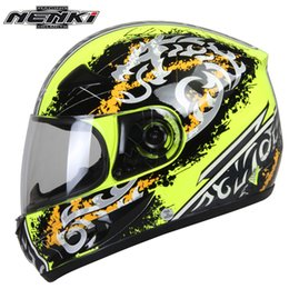$enCountryForm.capitalKeyWord NZ - NENKI Summer Motorcycle Full Face Racing Helmet Motorbike Touring Street Motor Scooter Riding Helmet with Clear Lens Shield 816