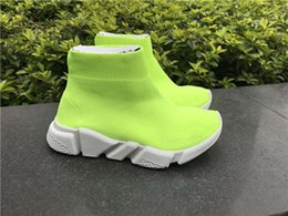 $enCountryForm.capitalKeyWord NZ - Brand Designer Kids Sports Boots Wool Knitted Breathable Athletics Boys and Girls Running Shoes Baby Sneakers New Socks Shoes