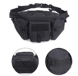 Tactical Shoulder Packs Australia - 7 Styles Outdoor Camping Waist Bag 600D Tactical Waist Pack Shoulder Bags Multi-Pocket Molle Unisex Climbing Hiking Pouch Belt Purse M118F