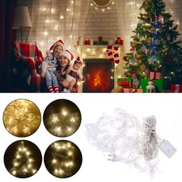 neon christmas tree NZ - Led Deer Christmas Tree Star Lamp String 8modes Ins Christmas Fairy Light Decoration Holiday Curtain Lights Wedding Neon Lantern