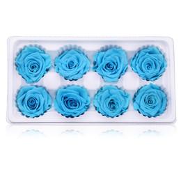 Roses dRied floweRs online shopping - Handmade DIY Simulation Flower Home Decor Creative Luxury Dried Flowers Fashion Workmanship Wedding Favor Rose Hot Sale hl Ww