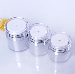 $enCountryForm.capitalKeyWord Canada - 15 30 50 G   ML Pearl White Acrylic Airless Jar Round Vacuum Cream Jar 0.5Oz 1Oz 1.7Oz Cosmetic Packing Pump Bottles