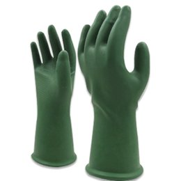 painting clothing UK - Oxford thick industrial chemical Resistant gloves Anti-virus gloves with Coating Work Gloves, Tough Durable for Painting, Chemicals,Pestici