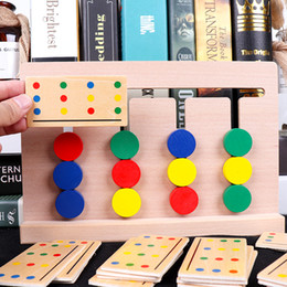 Thinking Games Australia - Children's exercise logic thinking toy orientation ability training reaction early education pairing four-color game educational toys