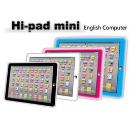 Großhandel Hot Sale Schiefen Lernspielzeug Kind Kinder Computer-Tablette Chinesisch Englisch Lernen Studie Maschine Spielzeug Lernspielzeug