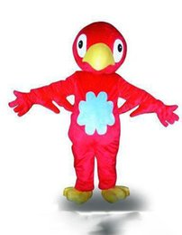 red bird costume 2019 - 2019 Factory direct sale big handsome red bird Fancy Dress Cartoon Adult Animal Mascot Costume free shipping cheap red b