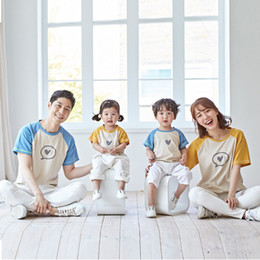 4t tshirt Australia - New Arrivals Family Matching Outfits Tshirt Shirt Mum Mom and Son Clothes Mother Daughter Dress Tee Shirt Prints Family Look