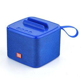 Hands Free Phone Holder Australia - TG-801 Bluetooth Speaker Portable Subwoofer Square Speakers Wireless Mic Phone Holder Hands-free Calls SpeakerTF USB  FM Radio