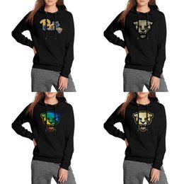 Discount panthers hoodie - Pitt Panthers football Coconut tree logo Women hooded sweatshirts pullover Lightweight cute hoodie camouflage Golden Gay