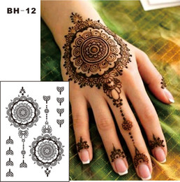 298454ab2 Black henna hand tattoos online shopping - BH Black Henna Temporary Tattoo  for Hands Inspired Body