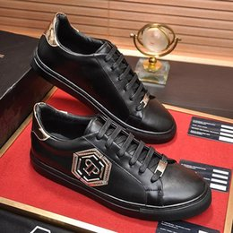 Hexagon boxes online shopping - Fashion Designer Luxury Casual Mens Shoes Flats Fashion with Box Scarpe da uomo Men Shoes Lo Top Sneakers Hexagon Fashion Type Luxury Me