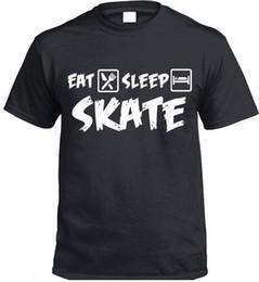 Vente en gros Mange Sommeil SKATE T-Shirt Cadeau Présent Patins Chantants Patinage