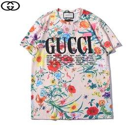 Vente en gros t shirt homme tshirt homme été streetwear manches courtes t-shirt femme t-shirts camiseta Couple portant chemise homme 1254