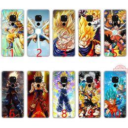 Clear Balls Australia - Dragon Ball DragonBall z goku Soft Silicone TPU Phone Case for Huawei Mate 20 10 Pro Nova 2i 3 3i 4 Lite