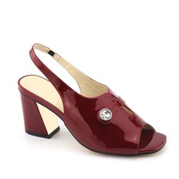 Italian Office Shoes Designs Australia - 2019 New Arrival Italian Ladies Sexy High Heels Pumps Wine Red Italian Design Ladies Pumps African Women Sandal Shoes for Party