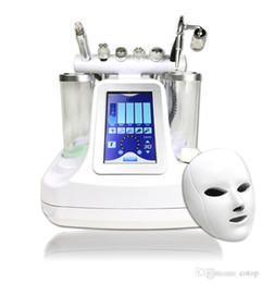 Опт 5,6,7 в 1 био рф холодный молот гидро микродермабразия вода гидра дермабразия спа машина для очистки кожи лица