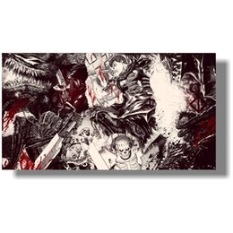 Making sprays online shopping - Wall Pictures for Home Decoration large sizes custom made Berserk poster x60 cm