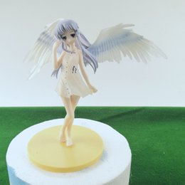 angels figures Australia - 15cm Angel Tachibana Kanade PVC Action Figure Model Dolls Decoration Anime Angel Figurine Toys Gifts For Christmas