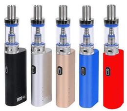 Top qualiTy vape mods online shopping - Top quality Jomo Lite W starter kit e cigarettes Box Mod vape pen electronic cigarette vaporizer pen for e liquid
