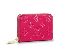 Framed coin purse online shopping - Zippy Coin Purse M90345 New Women Fashion Shows Exotic Leather Bags Iconic Bags Clutches Evening Chain Wallets Purse