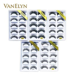 eyelashes retail Australia - False Eyelashes Christmas Big Sale 3D Crisscross Thick Eyelashes G800 G803 G805 G806 Easy to Apply Eyelashes Dropshipping Retail Wholesale