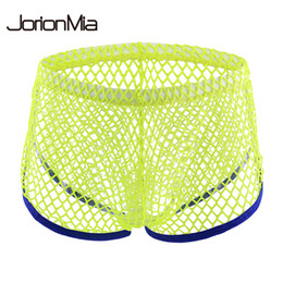 slips boxer NZ - Gay Sexy Breathable Underwear Men Boxers Men Calzoncillos Sexy Transparent Panties For Jockstrap Slip Cueca Masculina st63