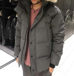 $enCountryForm.capitalKeyWord NZ - Fashion Winter Down Parka Camo Hooded WYN Men Brand Designer Jacket Classic Outdoor Warm Outwear Coat online Sale