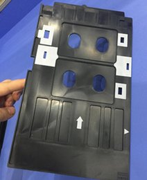 Office Electronics Printer Parts 100 Pcs Glossy Pvc Card And 1 Pcs Card Tray For Epson R260 R265 R270 R280 R290 R380 R390 Rx680 T50 T60 A50 P50 L800 L801 R330