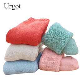 $enCountryForm.capitalKeyWord NZ - Urgot 5pairs Winter Thick Rabbit Wool Socks Women's Winter Tube Terry Socks Pure Color Super Thick Snow Thermal Socks Calcetines
